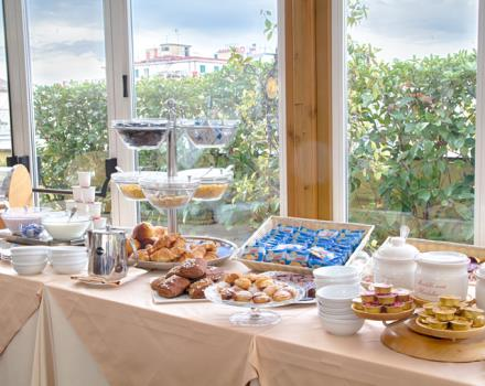 Fresh products of the Best Western Hotel Plaza Naples.