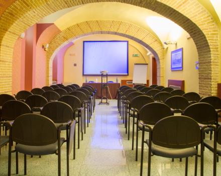 Prince room with maximum capacity up to 70 seater Auditorium, video projector, flipchart.